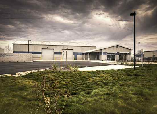 Butte County North Maintenance Facility - Exterior 1